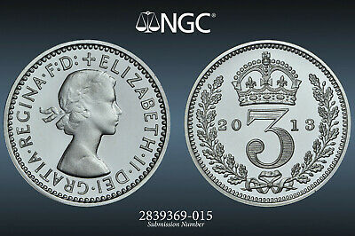 2013 Great Britain Maundy 4 Coin Set: Ngc Ms 68/69/69/68.