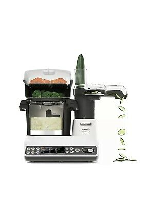 KENWOOD KCOOK MULTI CCL401WH - Kitchen Robot 4 dishes at a time - 6 Programs.