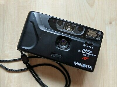 Minolta Classic 35mm Compact Camera in Excellent Condition