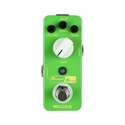 Mooer Micro Series Compact Pedal Rumble Drive Guitar Effects Overdrive pedal