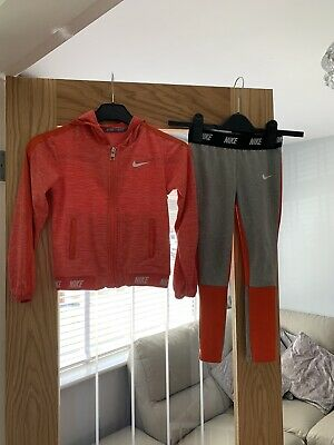 Girls Nike Dri-fit Set/outfit/tracksuit Age 5-6 Years
