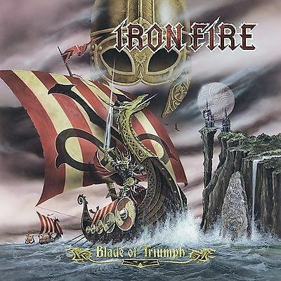 Blade of Triumph IRON FIRE CD ( FREE SHIPPING)