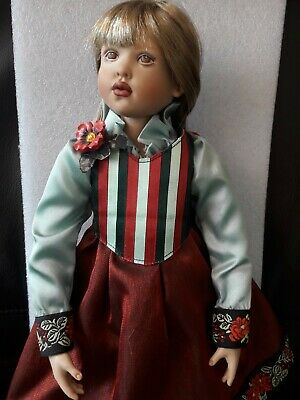 """16"""" Helen Kish Blonde 'Red Balloon' Doll - unboxed"""