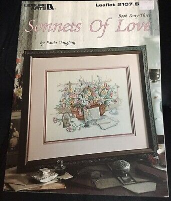 Sonnets Of Love Leaflet 2107 By Paula Vaughan