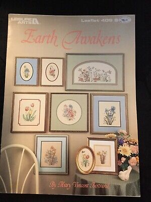 Earth Awakens By Leisure Arts, Book 409