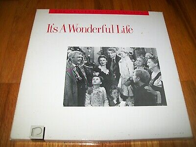 IT'S A WONDERFUL LIFE Criterion 3-Laserdisc LD BOXED SET VERY GOOD CONDITION