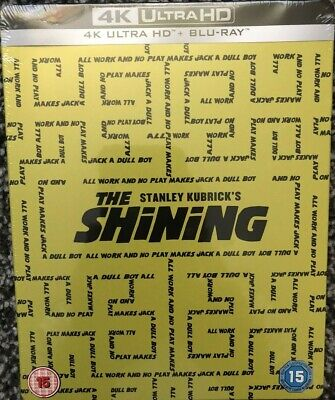 THE SHINING 4K BLU RAY STEELBOOK ZAVVI EXCLUSIVE brand new and sealed