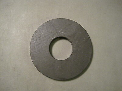 """3/8"""" Steel Plate, Disc Shaped, 3.50"""" OD x 0.75"""" ID, A36 Steel, Washer, Ring"""
