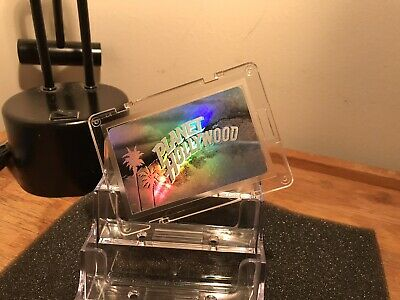 """Planet Hollywood Hologram Special Vip Internation Pass Retired Card """"""""Cherry """""""""""