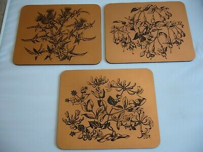 Cuprart Copper Placemats x 6 - Made in England