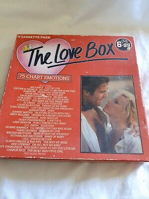 The Love Box. 4 Cassette Pack.