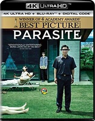 PRE-ORDER Parasite [New 4K UHD Blu-ray] With Blu-Ray, 4K Mastering, Di