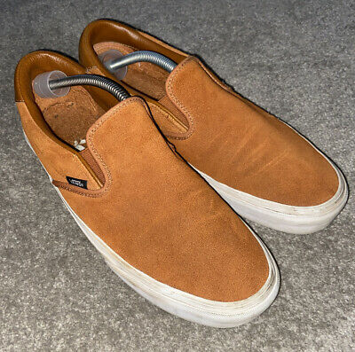 Mens Vans Off The Wall Slip On Trainers  Size Uk 10 Eur 44.5