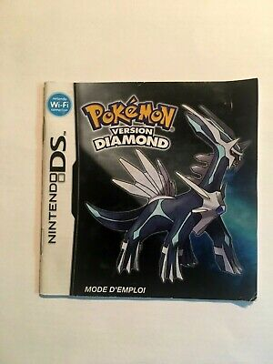 Pokemon Diamond Version (Nintendo DS , 2007) Catalog Only FRENCH/FRANCAIS