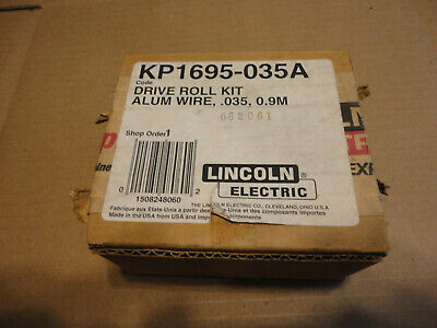 Lincoln Kp1695-035A Drive Roll Kit For Aluminum Welding