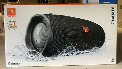 JBL Xtreme 2 Rechargeable Portable Wireless Bluetooth iPhone Speaker Red NEW