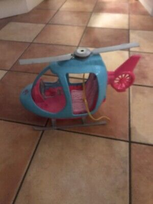 Barbie FWY29 Travel Helicopter - Pink/Blue