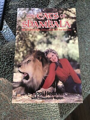Tippi Hedren SIGNED Book Cats Of Shambala  Hitchcock Star The Birds LAVEY Satan