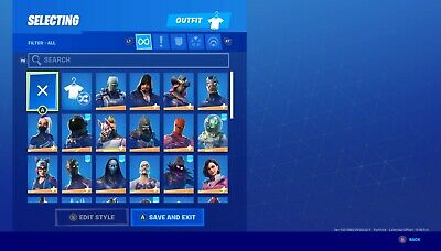 Stacked OG fortnite account 56skins The Reaper(John Wick), Raven and much more!!