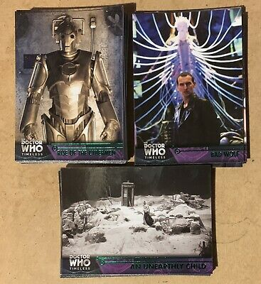 Huge 50 + Card Doctor Who Timeless Green Parallel Lot !!!
