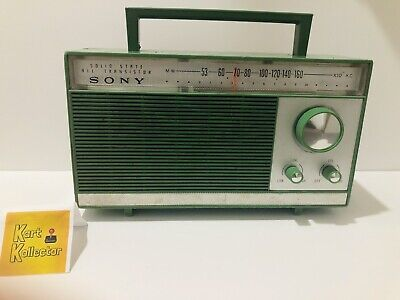 Sony Solid State Six Transistor Vintage Radio (Mod. TR627) Not Working SEE NOTES