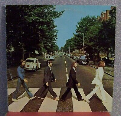 BEATLES, ABBEY ROAD Record