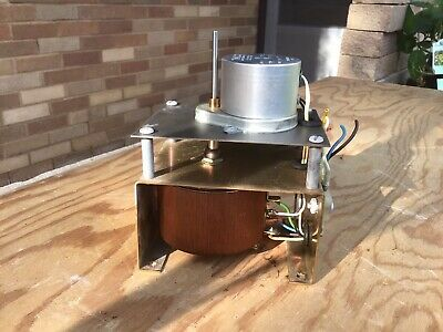 Superior Electric Type 10B Powerstat Variable Transformer w/ synchronous motor