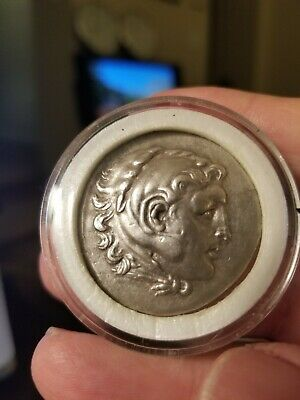 Ancient Greek Drachma Alexander the Great Coin