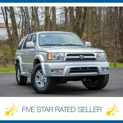 2000 Toyota 4Runner Limited RR Diff Lock Serviced 4WD Leather CD Tow 2000 Toyota 4Runner Limited RR Diff Lock Serviced 4WD Leather CD Tow