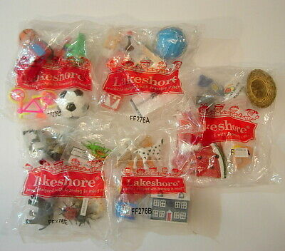 Lakeshore Learning Products Toy Huge Lot New in Packages Samples(?) Dollhouse