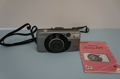 Canon Autoboy Luna 105 PANORAMA Ai AF 38-105mm Lens Point & Shoot (2568)