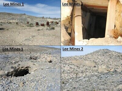 """High Level Investment Gold and Metals Lode Mining Claim """"Lee Mine"""" INYO"""