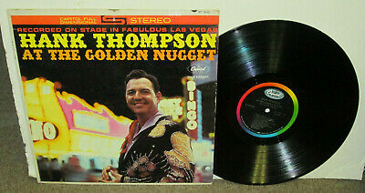 HANK THOMPSON At Golden Nugget, original Capitol vinyl LP, 1961, G+, country