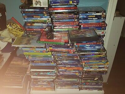 50 Disney Dvd Lot Random