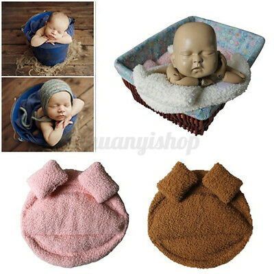 US Newborn Baby Photography Props Posing Pillow Basket Filler Photo Backdrop New