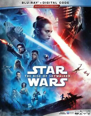 STAR WARS Rise of Skywalker BLU RAY + DIGITAL CODE ORIGINAL SLIPCOVER Brand New