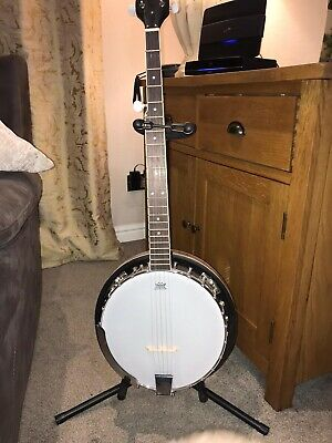 Oypla 5 string Bluegrass Banjo With Remo Skin And Accessories
