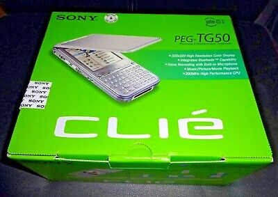 Sony Clie PEG- TG50 PDA  - sehr selten !!