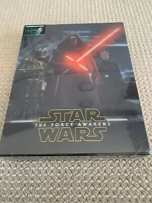 Star Wars The Force Awakens Double Lenti 3D Blu-ray SteelBook Blufans Exclusive