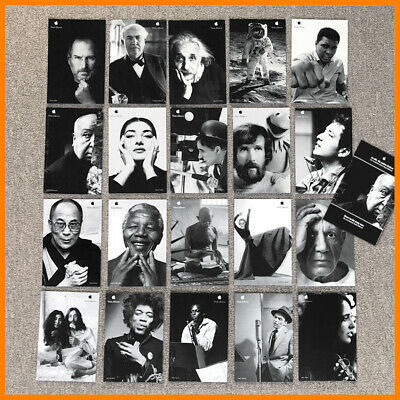 Apple THINK DIFFERENT postcards / set of 20 cards with 12-page-booklet