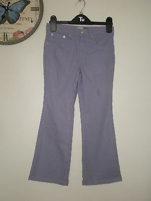 Girls Lilac Stretch Shimmer Jeans Age 6 Years Gap 75 Cotton 22 Nylon 3 Spandex