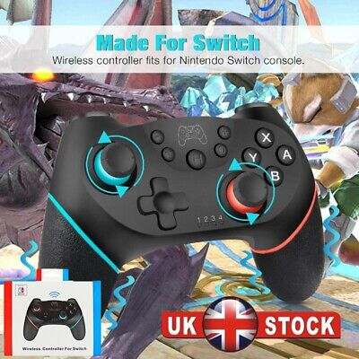 Bluetooth Wireless Gamepad Joystick Pro Controller for Nintendo Switch Console