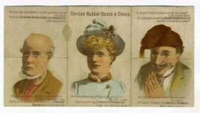 Candee Rubber Boots & Shoes Advertising Booklet 6 Panels Make 14 Magic Faces