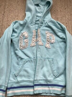 GAP Hoodie Girls Light Blue Age 8