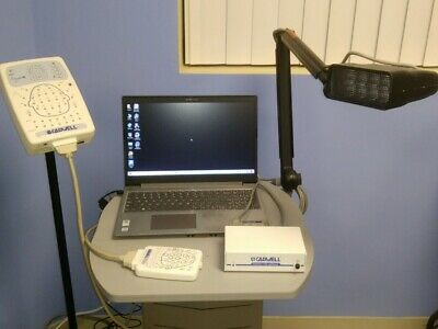 Cadwell Easy 3  EEG System, Win 10 Laptop, Optional Cart,  1 Yr. Warranty