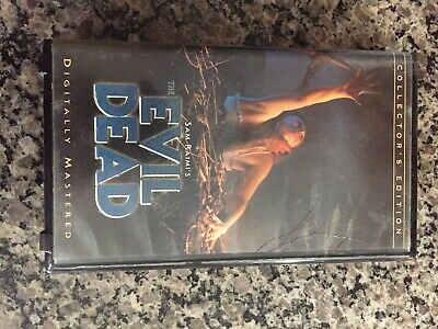 The Evil Dead (VHS, 1998, Collectors Edition)