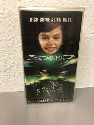Star Kid RARE Holographic Case Cover 1996 VHS sci-fi OOP