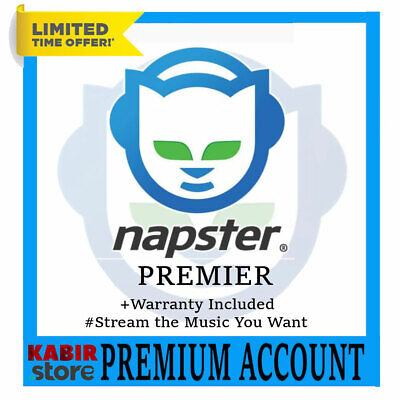 Napster Premier Subscription 😲 Lifetime Warranty ✅ Fast delivery 🎧Worldwide