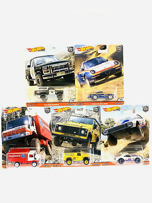 2020 Hot Wheels All Terrain Wild Terrain Set of 5 Cars Car Culture 1/64 Diecast