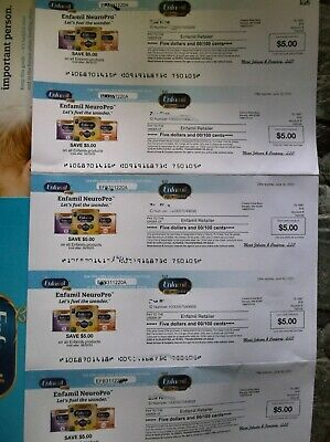 Enfamil Baby Formula Product Coupons $25.00 Worth